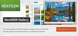 プラグイン NextGEN Gallery
